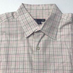 GAP Men's Medium Pink Cotton Oxford Dress Shirt